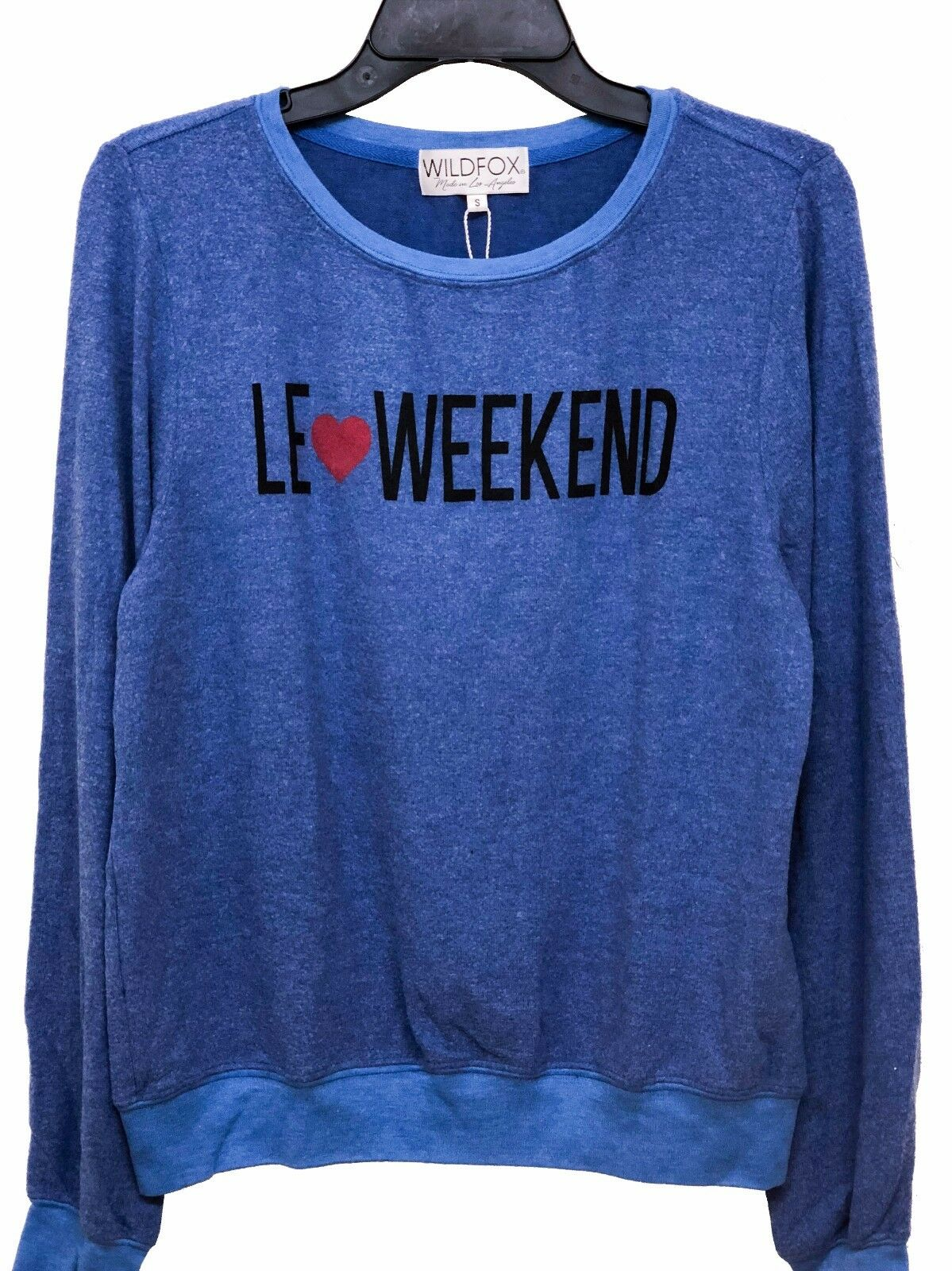 Wildfox Couture damen Vintage Le Weekend BBJ Jumper Sweater Shirt Top S M L