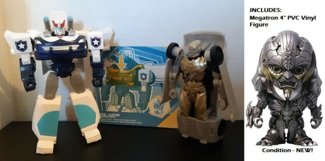 Transformers LOT -Cyberverse Warrior Class PROWL & MV5 1 Step ZODIAC MEGATRON