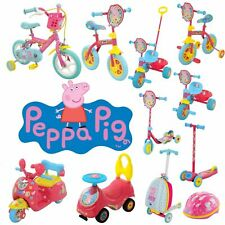 Peppa Pig Scooters, Bikes, Helmets, Trikes and more! Ride with Peppa Pig!