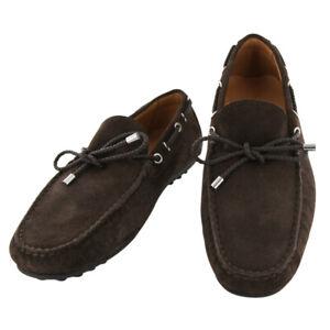 Neuf Fiori Di Lusso Daim Marron Chaussures - Pilotes - (2018031621)