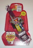Vtg 1994 Mighty Morphin Power Rangers Seat Belt Mates - Megazord Figure Mmpr
