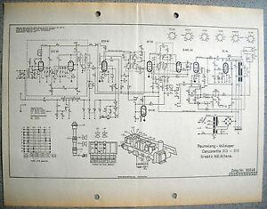 ITT-GRAETZ-Canzonetta-513-515-Schaltplan