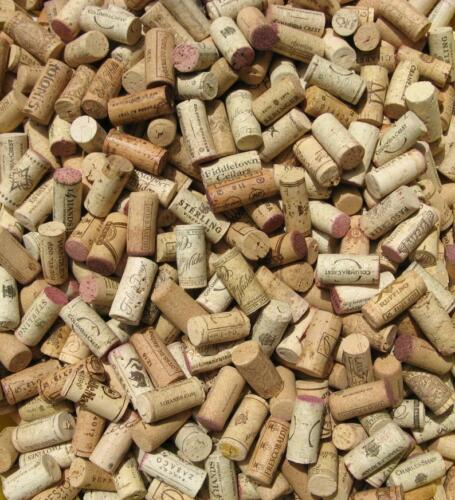 Recycled 100 Used Wine Corks Upcycled Great Crafting Condition! Used