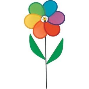 Image Is Loading Flower Pinwheel Wind Spinner Outdoor Home Amp Yard