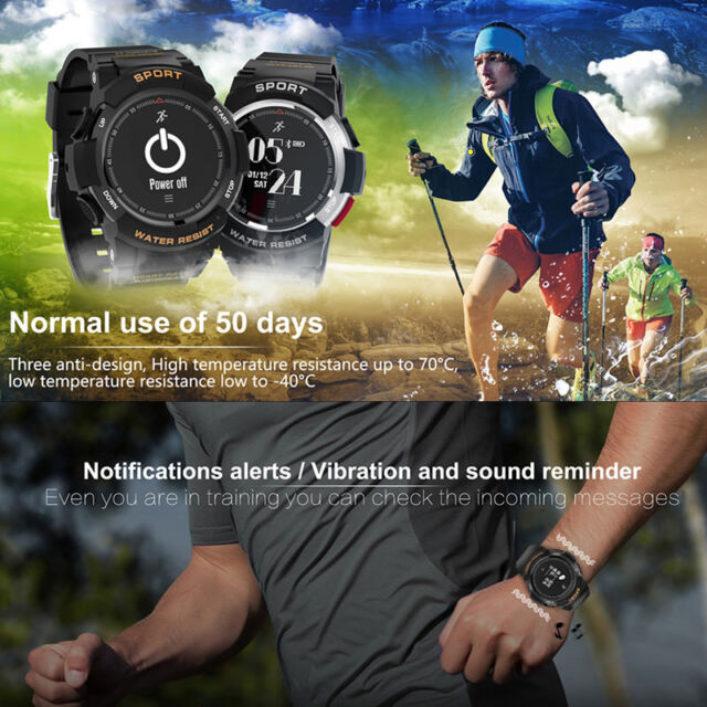 Sports Smart Watch Waterproof Bluetooth Heart Rate Monitor Running Swimming GPS