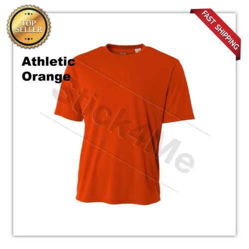 NEW A4 Men/'s Dri-Fit Workout Running Cooling Performance T-Shirt A4N3142