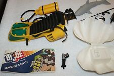*RARE* G.I. JOE - ADVENTURE TEAM - VINTAGE - JAWS OF DEATH RADIO CLAM PLAYSET