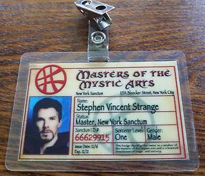 Medico-Strange-Identificacion-Badge-Masters-Of-The-Mystic-Artes-Stephen-Vincent