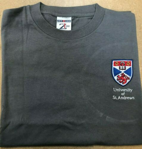 ST ANDREWS UNIVERSITY T-SHIRT NEW CONDITION