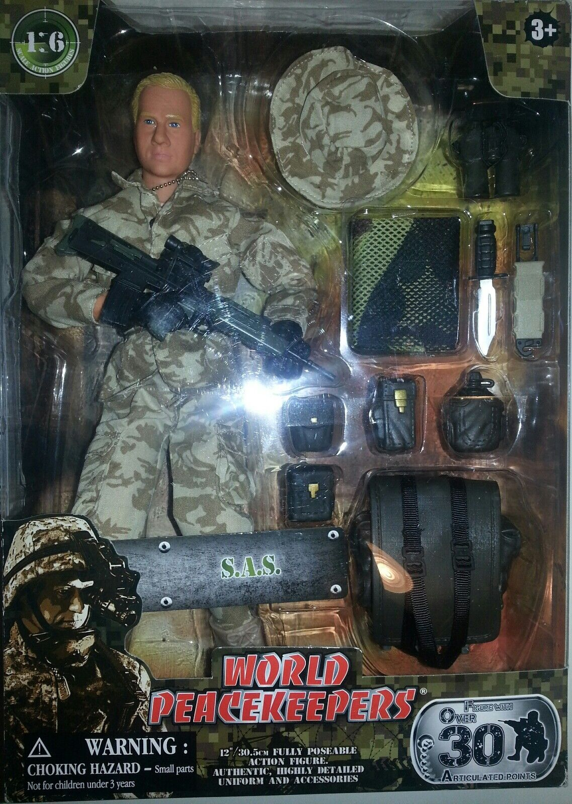 World PeaceKeepers S.A.S. New Action Figure 12