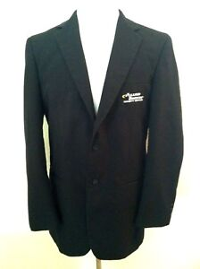 Image Is Loading Allied Barton Security Blazer Black Uniform Jacket Size
