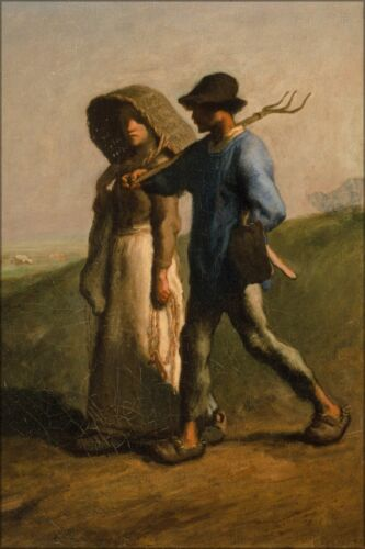 Poster, Many Sizes; Jean Francois Millet Going To Work