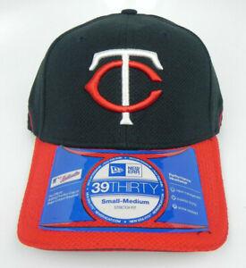 MINNESOTA TWINS MLB NEW ERA 39THIRTY STRETCH-FIT BP CAP HAT SIZE ADULT S/M NWT!
