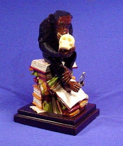 "Darwin ~ /"" The Thinker /""     FIGURINE STATUE ~  Monkey Ape!"