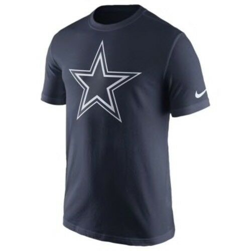737ff1e93 Nike Dallas Cowboys Logo NFL Men s Navy Short Sleeve T-shirt Medium Tee for  sale online