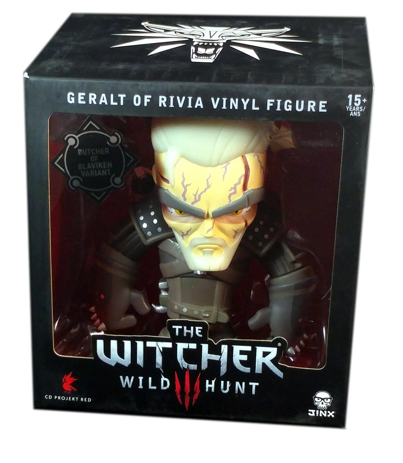 Jinx, The Witcher Butcher of Blaviken  6  Vinyl Action Figure, New