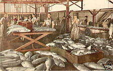 OLD PHOTO POSTCARD Bellingham WA SALMON CANNERY 1910 PC