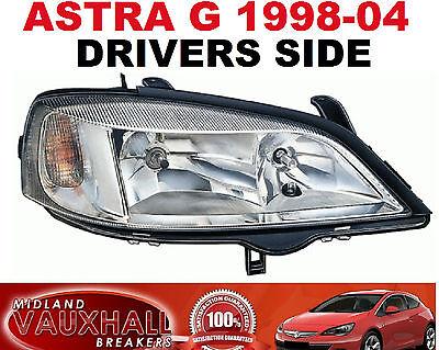 OPEL Astra G MK4 98-04 Cromo Faro Lado Derecho nuevos controladores de