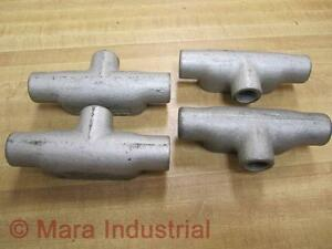 Crouse-amp-Hinds-T17-1-2-034-Conduit-Body-Pack-of-4