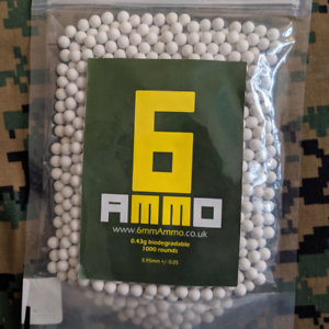 sac de 1000 6 mm munitions 0.43 g bio