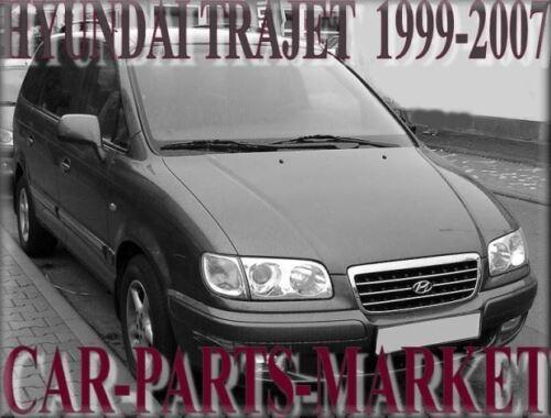 Para Hyundai Trajet 2000-2008 Derecho Lado Del Conductor Ala Plana Cristal Espejo