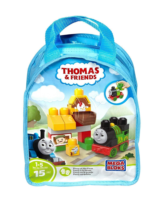Thomas & Friends - Thomas At The Mill Or Percy At The Farm (Mega Bloks) Set