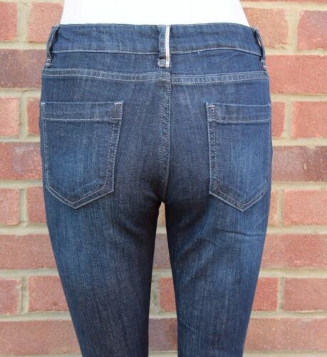 Women Ladies Next Rinse Wash Blue Straight Slim Jeans All Sizes.