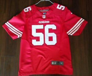 Details about #56 49ERS NFL REUBEN FOSTER JERSEY.Size 40.
