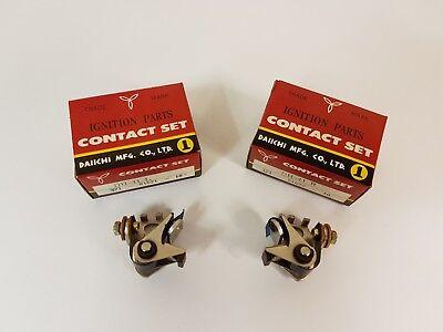 Yamaha DAIICHI Contact Points Set TX500 XS500 Left Right Complete Original New