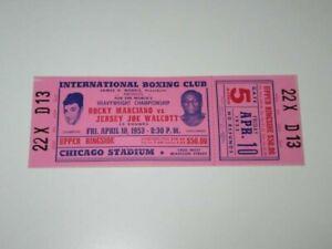 Rocky-Marciano-vs-Jersey-Joe-Walcott-Phantom-Tickets-April-10-1953