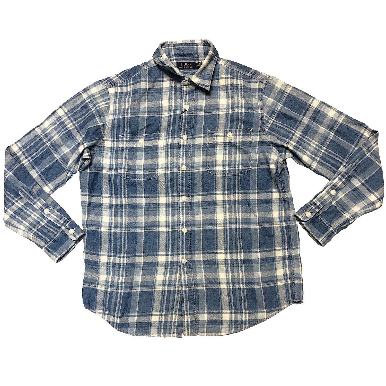 Polo Ralph Lauren Men's Plaid Twill Work Shirt (MSRP ) (710639281001)