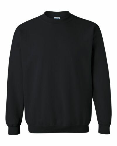 Gildan Heavy Blend Crewneck Sweatshirt 18000 S-3XL NEW 50//50 cotton polyester