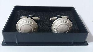 Coffret-Paire-de-2-boutons-manchettes-1-6-cm-Blanc-Mat-Cavalerie-1-REC-LEGION