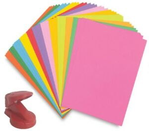 Intensive Pink 20 Sheets of Coloured A4 Paper for Craft SALE
