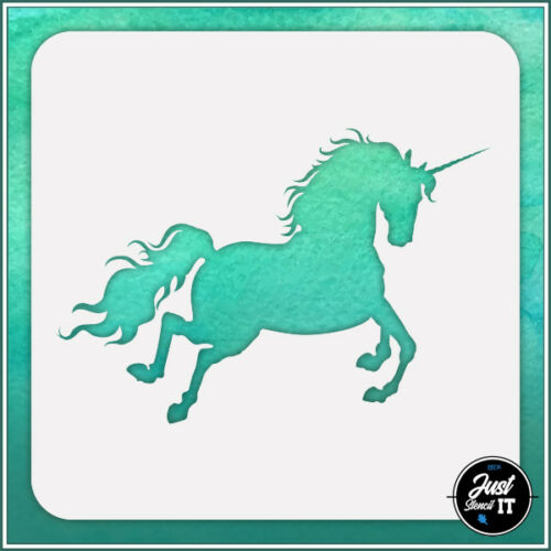 durable and reusable stencil for DIY painting /& crafts Unicorn #6