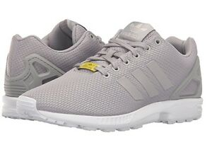1b4ec232bf292 NEW MEN ADIDAS ZX FLUX LIGHT GRANITE WHITE ORIGINALS SNEAKER M19838 ...