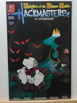 Comics Other Modern Age Comics Disciplined Knights Of The Dinner Table Hackmasters Of Everknight #2 Comics Cb7029 To Adopt Advanced Technology
