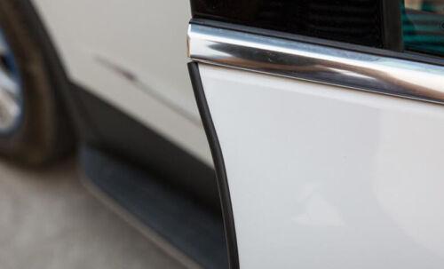 5M Car Door Scratch Strip Protector Edge Guard Rubber Sealing Pad Universal BK