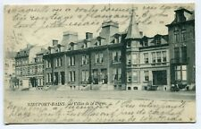 CPA - Carte Postale - Belgique - Nieuport-Bain - Villas de la Digue - 1903