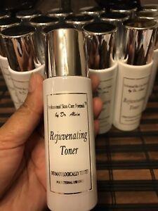 Dr Alvin Professional Skin Care Formula Rejuvenating Toner 120ml 100 Authentic Ebay