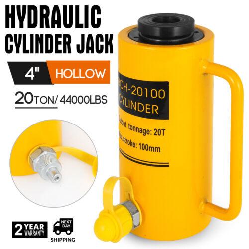 20T 100MM Creux Vérin Hydraulique Cric Tirer Équipement lourd Industriel