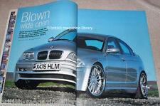 BMW Car 02/2002 - Breyton widebody BMW E46 328i Hamann Laguna Seca II BTCC 1992