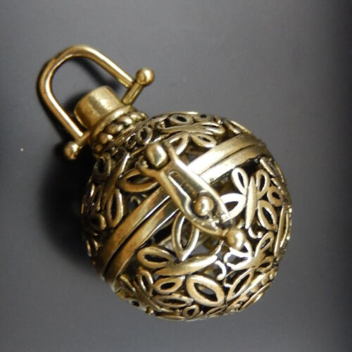 Multi-style Bronze Mexican Bola Bell Harmony Ball Angel Caller Locket Pendant