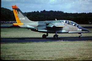 Aircraft slide, K25/64, Alpha Jet, AT-26 , Belg. AF