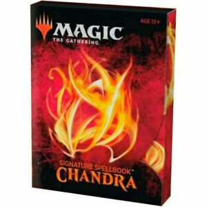 MTG Signature Spellbook: Chandra - Magic The Gathering Box Set - Brand New!