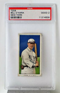1909-T-206-BILL-O-039-HARA-N-Y-GIANTS-SWEET-CAPORAL-350-SUBJECT-PSA-GOOD-2