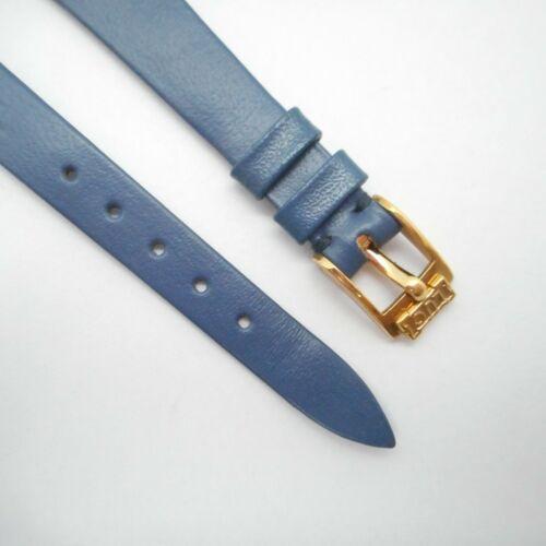 Chopard Dark Blue Leather Strap 12/8mm NEW GENUINE ORIGINAL