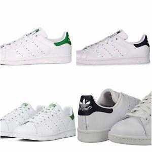Image is loading Adidas-Originals-Stan-Smith-Unisex-Men-Women-Sneakers- dbffbd801