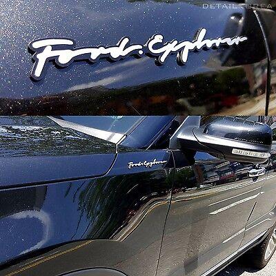 Griben Car Name Lettering Emblem Badge 30010 for Ford Explorer