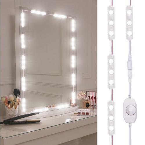 Dimmable Vanity Lights Makeup Mirror Led Light Kit 60 Leds 10ft Style Clearance For Sale Online Ebay